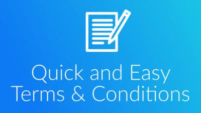 Quick and easy terms and conditions  (FREE)