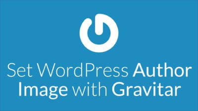 Set WordPress author image with Gravitar